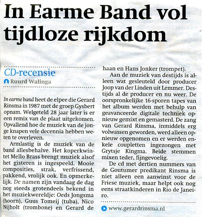 recensie in earme band001